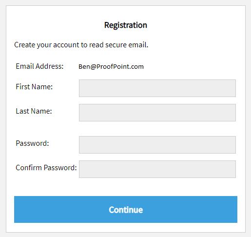 Cigna Secure Mailbox