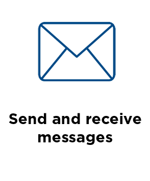 Send and receive messages