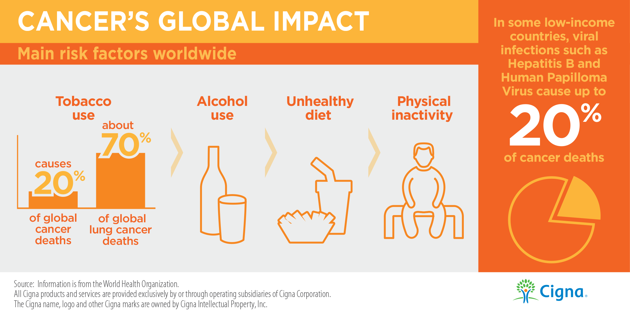 Main Risk Factors Worldwide Infographic