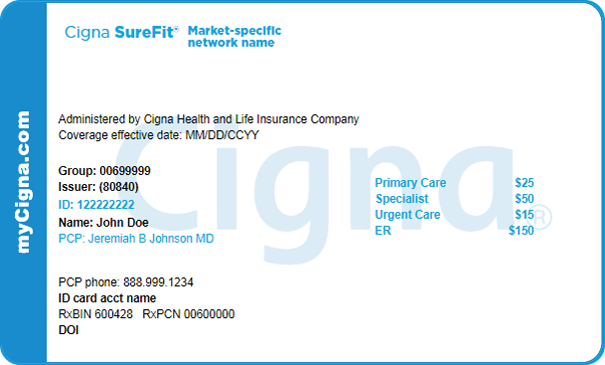 My Cigna Prescription Card | Webcas.org