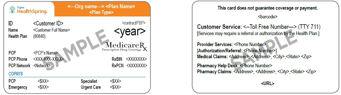 2019 Provider Manual Cigna Medicare